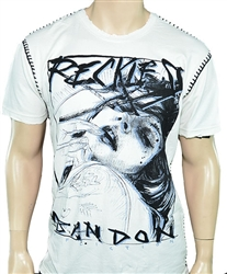 Affliction Men Reckless Abandon Designer Tee