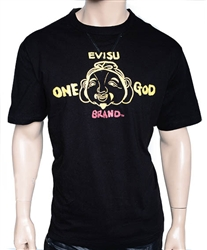 Evisu One God brand  T-Shirt