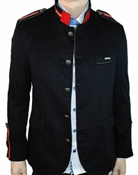 Mondo Jeans Military Inspired Blazer Navy 3468