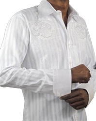 Mondo Jeans 1208 White Dress Shirt