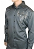 Rawyalty Men Gunwing Grey Dress Shirt
