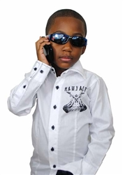 Rawyalty Kids Couture Button Down