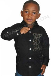 Rawyalty Kids glory button down