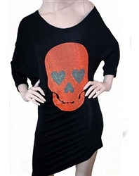 Rawyalty Women Skull Love Dress