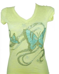 Rawyalty Ladies Butterfly Dream Tee