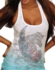 Rawyalty Ladies Unicorn Tank Top