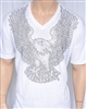 Rawyalty Men American Eagle T Shirt
