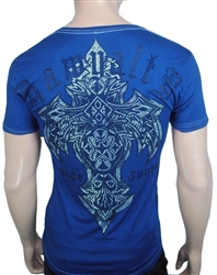 Rawyalty Men Tribal Cross Shirt