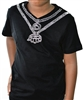 Showstopper Kids Crystal Chain Tee