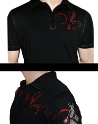 Showstopper King of Diamonds Polo Shirt