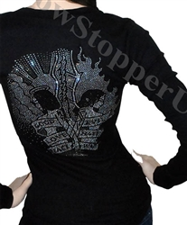 Showstopper Women long sleeve Good vs Evil Tee